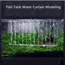 Aquarium Fish Tank Air Stone Bubble Bar Tube Pump Wall Curtain Diffuser Aerator