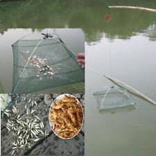 Fishing.Foldable Mesh Baits Trap .Umbrella Cast Dip Net Crab Shrimp