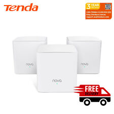 Tenda Nova MW5c-3 Pack Whole Home Mesh Wi-Fi System, 325 sq.m Wi-Fi Coverage