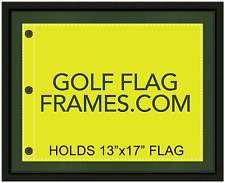 16 x 20 Black Flag Frame, blk-001,holds 13x17 Masters Golf Flags; flag not incl)