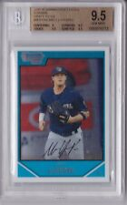 2007 Bowman Chrome Draft Matt LaPorta Rookie Graded BGS 9.5