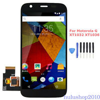 For Motorola Moto G XT1032 XT1036 LCD Screen Display +Digitizer Touch Assembly
