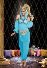 """CLASSIC SEXY """"GENIE IN A BOTTLE"""" ADULT HALLOWEEN COSTUME WOMEN SIZE LARGE"""