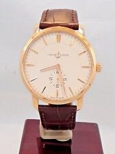 Ulysse Nardin Classico 8206-121 39mm 18K Rose Gold Limited Edition Watch *MINT*