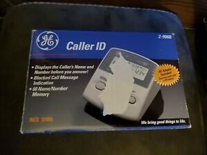 General Electric Caller ID Model 2-9060 Complete Open Box