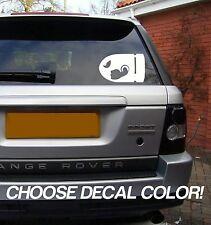 "Bullet 4"" Vinyl Sticker Decal car window bill mario truck 4x4 stance jdm euro"