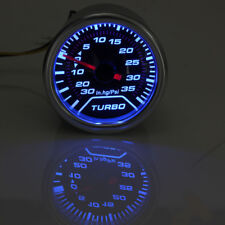 2'' 52mm Universal LED Turbo Boost Press Vacuum Gauge PSI Meter Smoke Tint