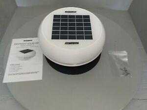 "Marinco Day/Night Solar Vent, 4"" White, N20804W"