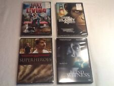 Lot of 4 Horror Fantasy DVDs, Last of the Living, Rise of Planet of the Apes +2