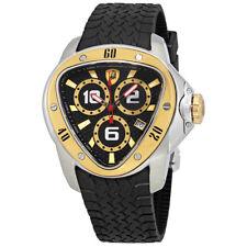 Tonino Lamborghini Spyder Black Dial Mens Watch 1306