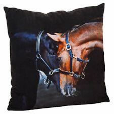 US Vendeur-Cool Taies d/'Oreiller Animal Cheval Housse de coussin équestre cheval