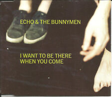 Ian Mcculloch ECHO & THE BUMMYMEN I want to be w/ 2 LIVE TRX CD Single SEALED