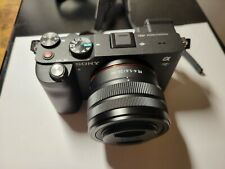 Sony Alpha a7C 24.2MP Mirrorless Camera - Black (FE 28-60mm F4–5.6)