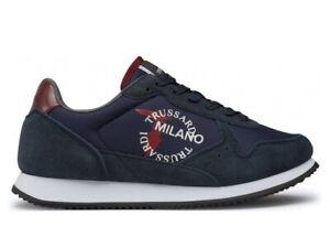 Scarpe da uomo Trussardi Jeans 77A00282 sneakers casual sportive basse comode