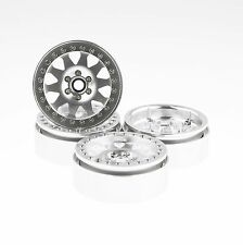 "ALIENTAC Four(4) 2.2""  Alloy Beadlock Wheel Rim Wide 1"" for RC Model #095"