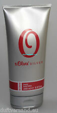 S. Oliver Silver Woman 200 ML LUXURY BODY LOTION NUOVO