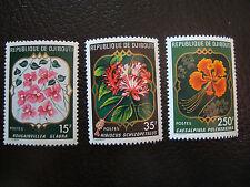 DJIBOUTI - timbre - yvert et tellier n° 483 a 485 n** (A7) stamp