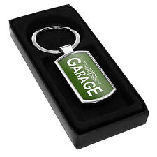 Garage KEYRING - Gift Idea Dad Mum Car Keys Tools Garden Shed Uncle Aunt