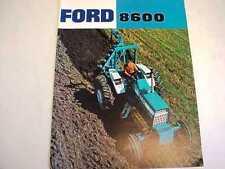 Ford 8600 Farm Tractor Brochure