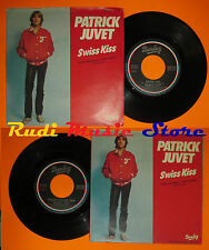 LP 45 7'PATRICK JUVET Swiss kiss French pillow talk 1979 italy BARCLAY *mc dvd
