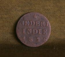 1826 Netherlands Indie 1/4 Stuiver World Coin  Nederl Nederland