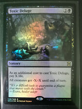Deluge FOIL 10th Edition NM-M Blue Uncommon MAGIC THE GATHERING CARD ABUGames