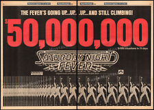 SATURDAY NIGHT FEVER__Original 1978 Trade AD_box office promo / poster__BEE GEES