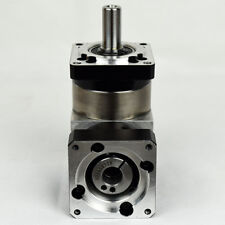 90 degree right angle planetary gearbox 5:1 for 400w AC servo motor shaft 14mm