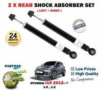 FOR HYUNDAI i10 2013->NEW 2X REAR AXLE LEFT RIGHT SHOCK ABSORBER SHOCKER SET