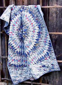 Wunderschöner kleiner Quilt, Kuscheldecke, 100 x 150, Handarbeit!