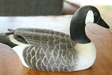Vintage Canada Goose Miniature Decoy by Les Beattie circa 1976