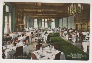 Canada postcard - Dining Room, Royal Alexandra Hotel, Winnipeg (A339)