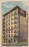 A)  Los Angeles, CA - Hotel Trenton - Exterior - Corner View