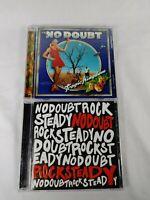 No Doubt CD Lot of 2 Tragic Kingdom & Rock Steady