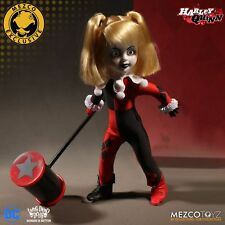 Living Dead Dolls Presents DC Comics Harley Quinn doll démasquée Mezco Exclusive