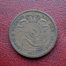 Belgium 1833 copper 10 centimes