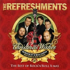 """Refreshments - """"Christmas wishes - Best of..."""" - CD Album - 2010"""