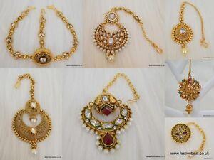Mangtika matha patti bor maang tikka forhead jewellery Indian bollywood bridal