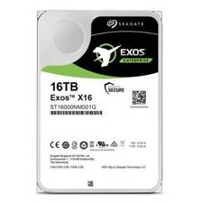 Seagate Exos X16 ST16000NM001G 16 TB 512e/4Kn SATA 6Gb/ s Hard Disk Drive