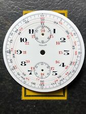 Vintage pocket watch chronograph Complicated Depose Porcelain 45mm Dial - NICE!