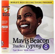 Mavis Beacon Teaches Typing Version 8 CD Rom Windows 95