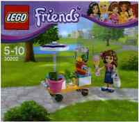 Brand New Lego - Olivia and Smoothie Stand (2015)- Friends - 30202