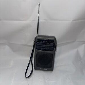 Radio Shack AM/FM Air Traffic Jetstream Radio Model 12-615 WORKS - No Back Cover