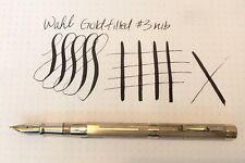 Wahl Gold Filled Fountain Pen Super Flexible #3 Nib