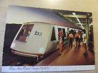 Postcard BART - Bay Area Rapid Transit - San Francisco/Oakland, California