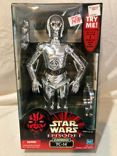 STAR WARS EP1 ESPISODE ONE - TC-14 12 INCH FIGURE - NEW IN BOX - RARE - 1999