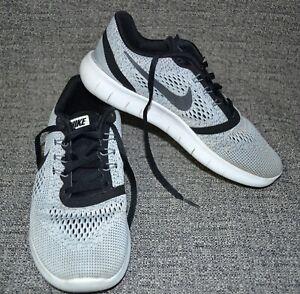 Nike Kid's Free RN Gray/Black 833989-100 Sneaker Athletic Shoes 5.5Y