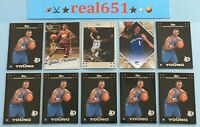 2007 NICK YOUNG Rookie Lot x 10 RC Batch Topps Chrome Fleer Ultra Upper Deck SP