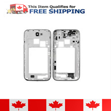 Samsung Galaxy Note 2 N7105 White MidFrame Plate Bezel Chassis