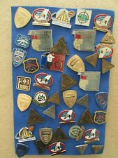 A Collection of Shooting Competition & Gun Club Lapel Pins